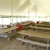 Golf Event Tent